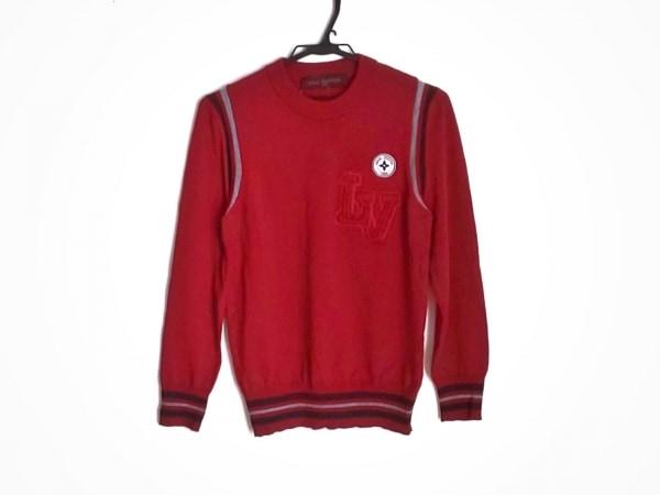 LOUIS VUITTON(ルイヴィトン) 長袖セーター サイズS レディース美品  LVマーク