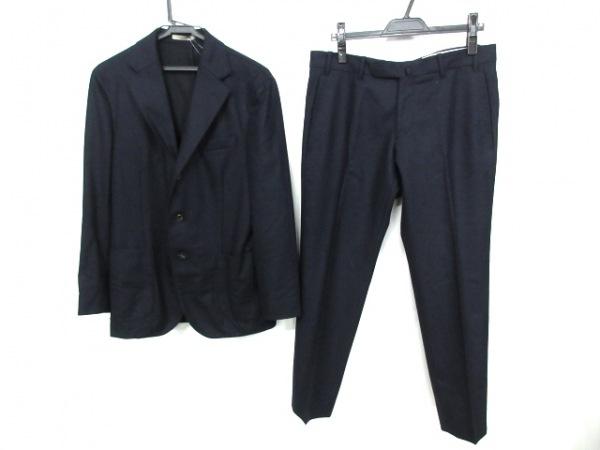 BOGLIOLI(ボリオリ) シングルスーツ サイズ46 S メンズ ダークネイビー DOVER