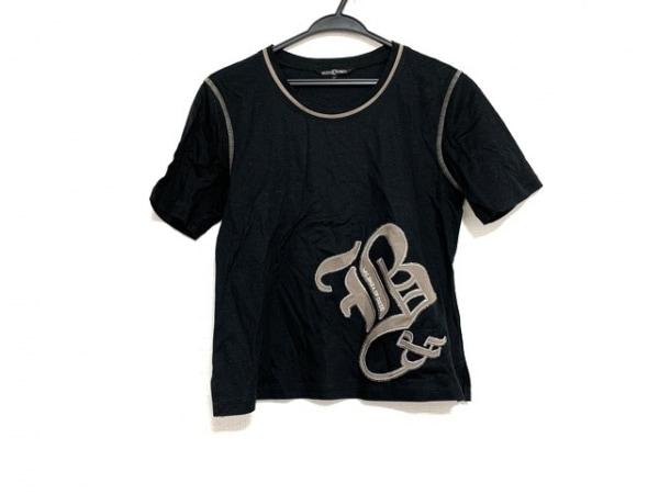 バレンザスポーツ 半袖Tシャツ サイズ40 M レディース美品  黒×カーキ×シルバー