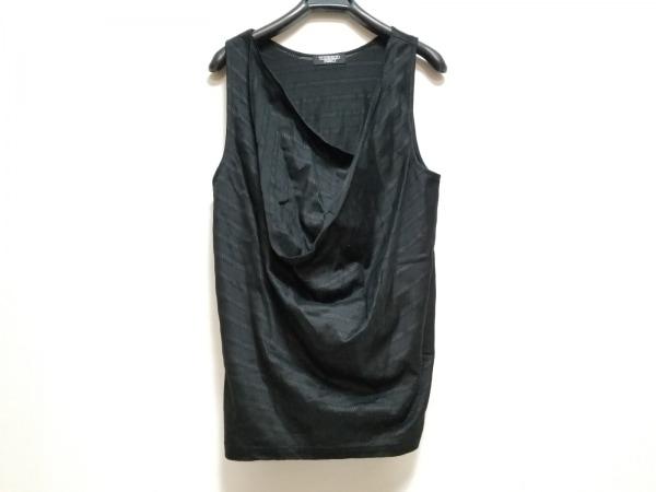 トルネードマート タンクトップ サイズ表記なし メンズ美品  黒×ダークグレー
