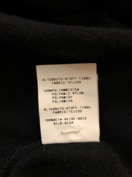 フィロソフィーディアルベルタフェレッティ ノースリーブセーター レディース美品  黒