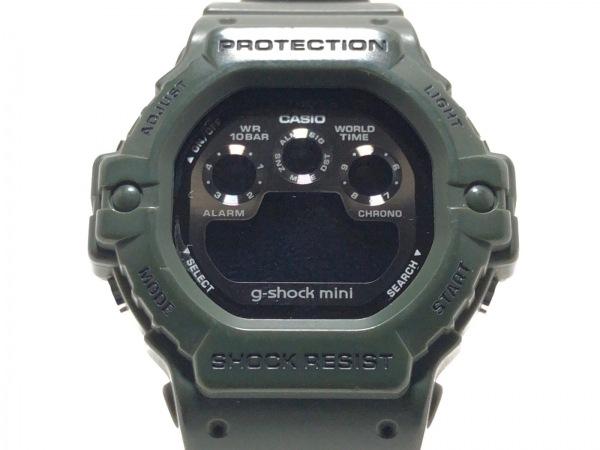 CASIO(カシオ) 腕時計 g-shock mini GMN-590 メンズ ラバーベルト 黒