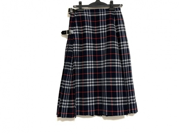 Burberry's(バーバリーズ) 巻きスカート サイズ013AB2 レディース美品  ロング丈