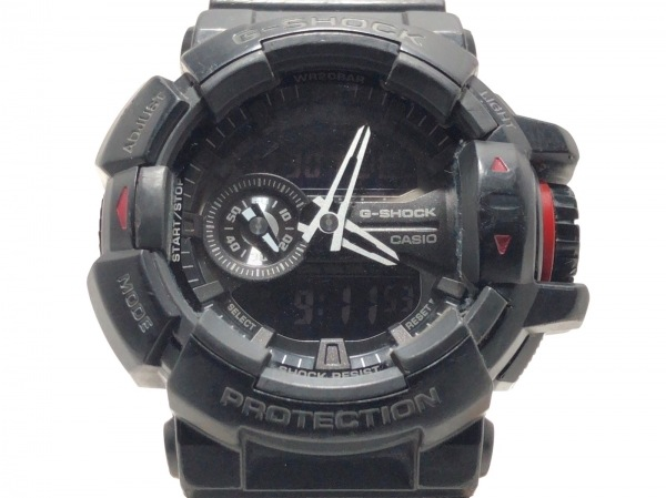 CASIO(カシオ) 腕時計 G-SHOCK GA-400 メンズ 黒