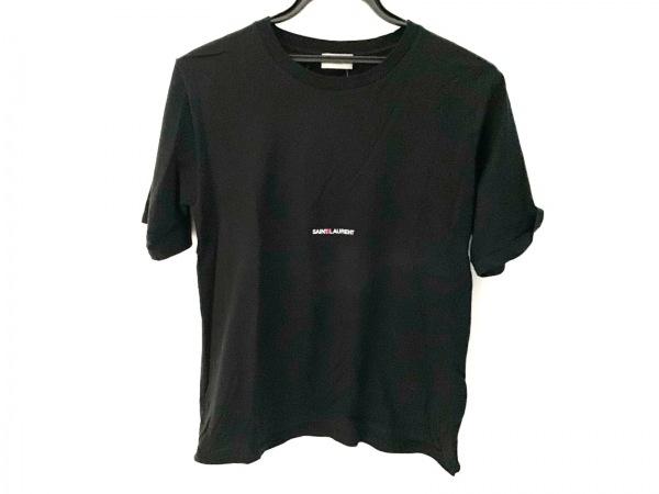 SAINT LAURENT PARIS(サンローランパリ) 半袖Tシャツ サイズXS メンズ 黒