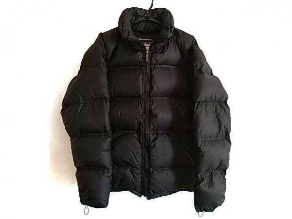L.L.Bean(エルエルビーン) ダウンコート サイズS メンズ美品  黒 ジップアップ/冬物
