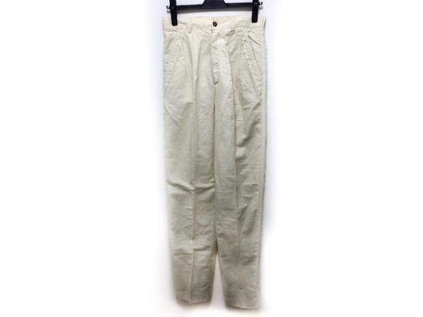 SINACOVA(シナコバ) パンツ サイズ76 メンズ - イエロー フルレングス/麻混