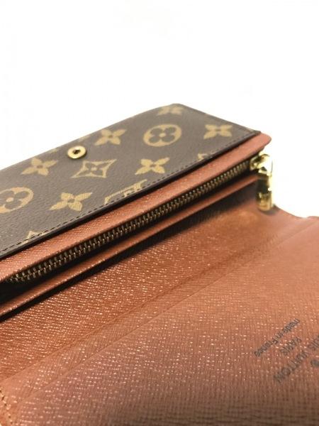ルイヴィトン 2つ折り財布 モノグラム ポルト モネ・ビエ トレゾール M61730