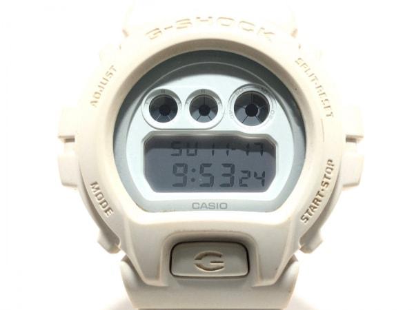 CASIO(カシオ) 腕時計 G-SHOCK DW-6900WW メンズ ラバーベルト 白