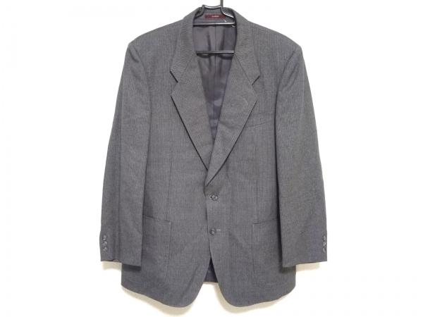 DURBAN(ダーバン) ジャケット サイズ98AB6 メンズ美品  ダークグレー ネーム刺繍