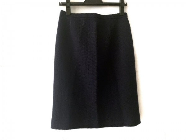 OLD ENGLAND(オールドイングランド) スカート サイズ38 M レディース ネイビー