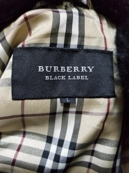 バーバリーブラックレーベル ダウンジャケット サイズL メンズ美品  黒 冬物