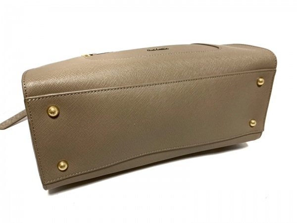 PaulSmith(ポールスミス) ハンドバッグ美品  グレーベージュ×ピンク レザー