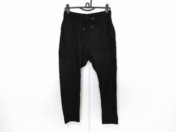 NOID(ノーアイディー) パンツ サイズ2 M レディース新品同様  黒 ウエストゴム