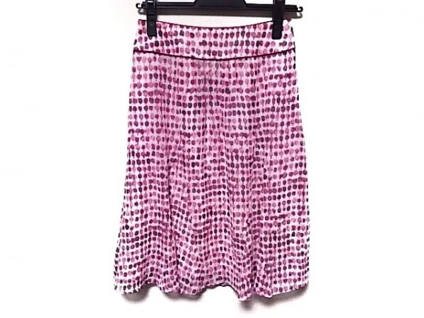 SONIARYKIEL(ソニアリキエル) スカート サイズ32 XS レディース ピンク×アイボリー