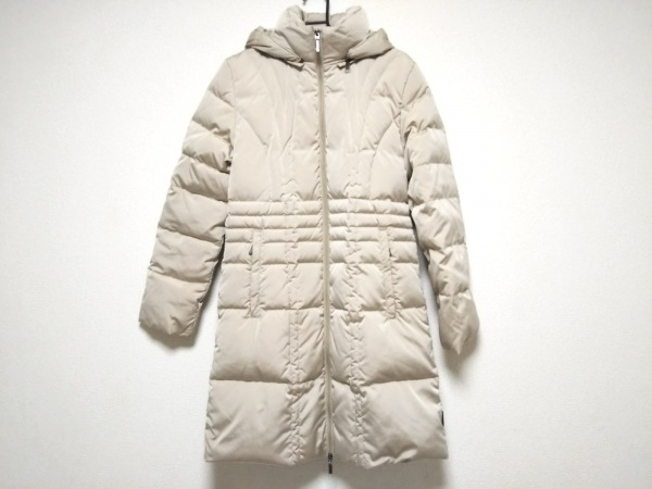 MONCLER(モンクレール) ダウンコート サイズ00 XS レディース - ベージュ 冬物