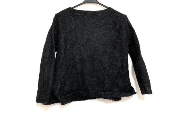23区(ニジュウサンク) 長袖セーター サイズ38 M レディース 黒