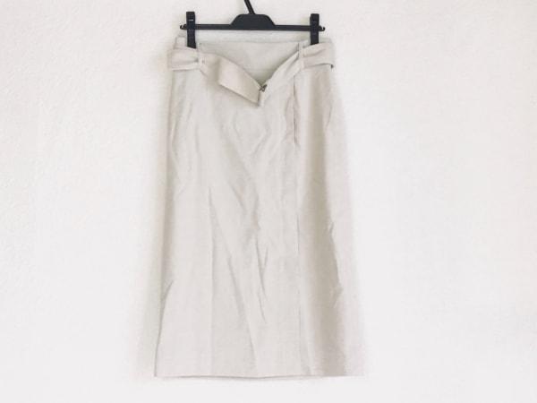 martinique(マルティニーク) ロングスカート サイズ2 M レディース ライトベージュ