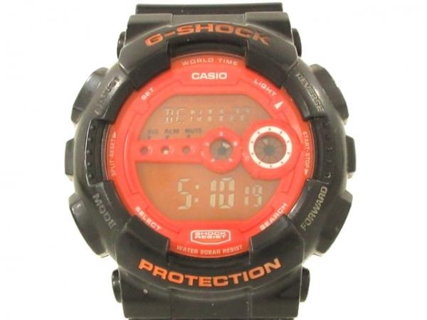 CASIO(カシオ) 腕時計 G-SHOCK GD-100HC メンズ レッド