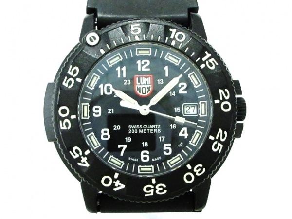 LUMINOX(ルミノックス) 腕時計美品  3-HLX/MB-MICROTEC メンズ 黒