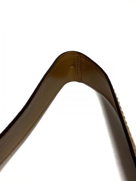 COACH(コーチ) ショルダーバッグ シグネチャー柄 12568 カーキ×ライトブラウン