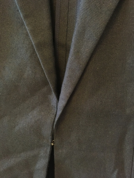 OLD ENGLAND(オールドイングランド) ジャケット サイズ38 M レディース 黒×ゴールド