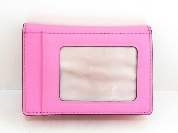 Kate spade(ケイトスペード) パスケース美品  ピンク レザー