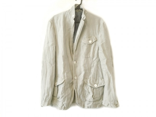 BOGLIOLI(ボリオリ) ジャケット サイズ46 S メンズ ライトグレー