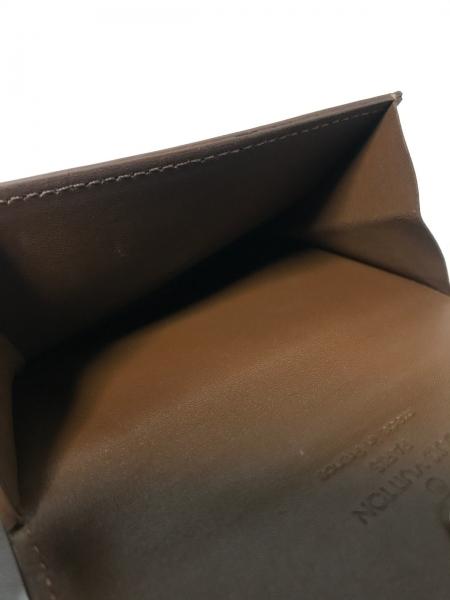 ルイヴィトン コインケース モノグラムヴェルニ美品  ラドロー M91162 ブロンズ