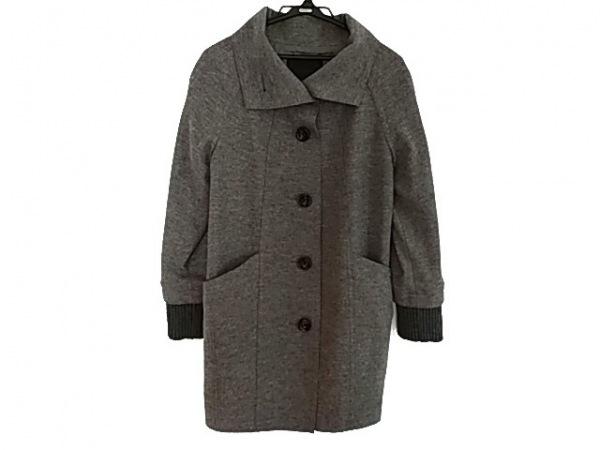 UNTITLED(アンタイトル) コート サイズ2 M レディース美品  グレー 冬物