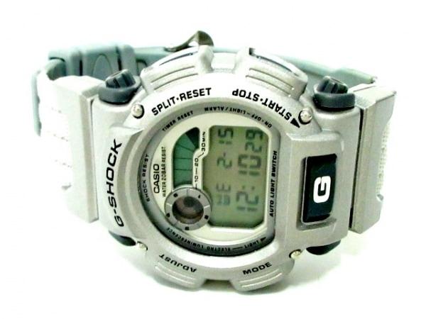 CASIO(カシオ) 腕時計美品  G-SHOCK DW-9000 メンズ シルバー