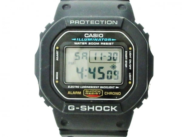CASIO(カシオ) 腕時計美品  G-SHOCK DW-5600E メンズ 黒