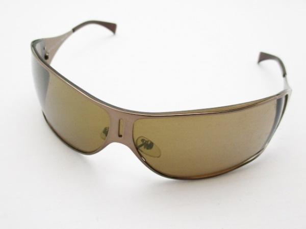 POLICE(ポリス) サングラス S8296 ダークブラウン プラスチック×金属素材
