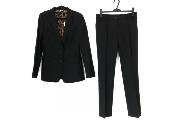 ドルチェアンドガッバーナ レディースパンツスーツ サイズ42 M レディース美品  黒