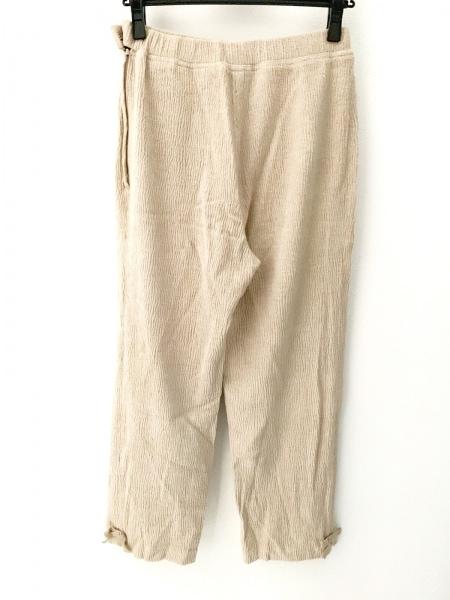 ROSSA(ロッサ) パンツ サイズ44 L レディース美品  ベージュ リボン
