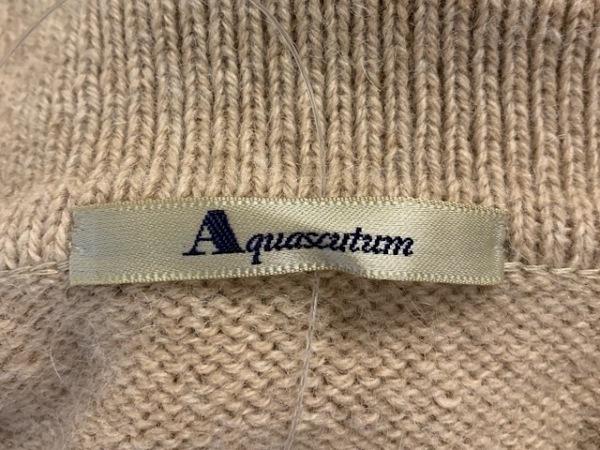 Aquascutum(アクアスキュータム) カーディガン レディース美品  ベージュ