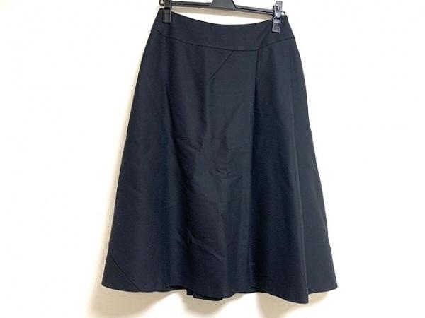 Scapa(スキャパ) ロングスカート サイズ40 XL レディース美品  黒