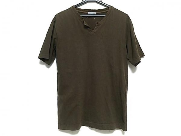 MargaretHowell(マーガレットハウエル) 半袖Tシャツ メンズ ブラウン
