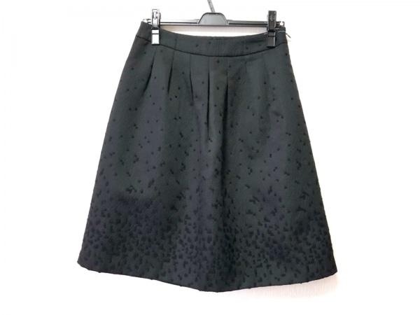 TO BE CHIC(トゥービーシック) スカート サイズ42 L レディース 黒 刺繍