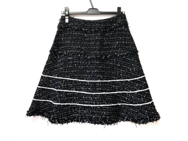TO BE CHIC(トゥービーシック) スカート サイズ40 M レディース 黒×白