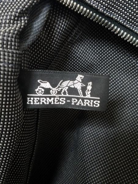 HERMES(エルメス) トートバッグ エールライントートMM グレー 旧型金具