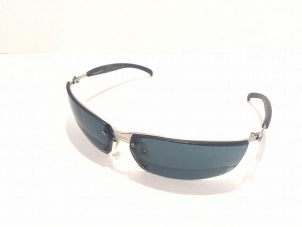 CHANEL(シャネル) サングラス 4008 黒×シルバー ココマーク プラスチック×金属素材