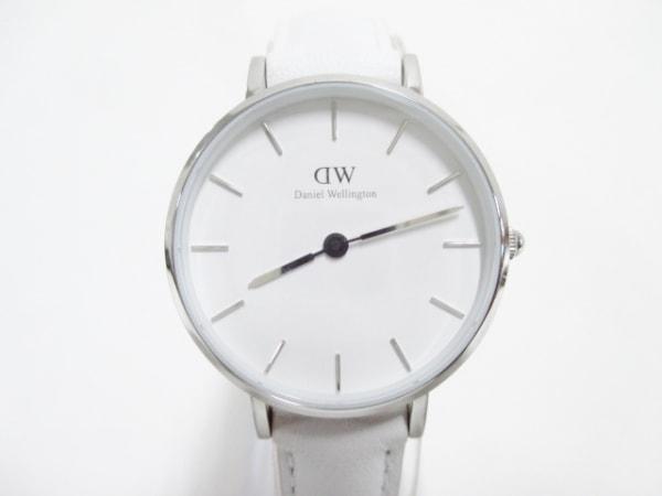 Daniel Wellington(ダニエルウェリントン) 腕時計美品  B28S06 レディース 白