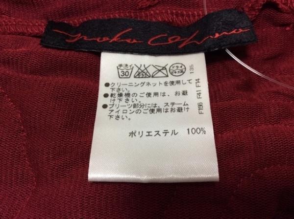 NOKO OHNO(ノコオーノ) スカート サイズ38 M レディース美品  レッド フラワー