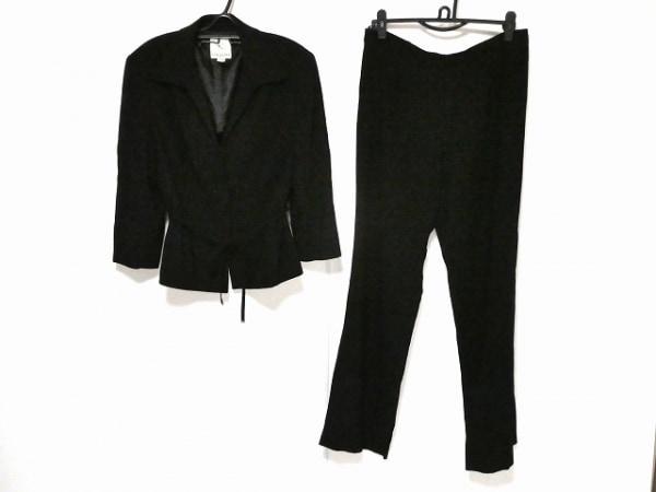 組曲 KUMIKYOKU(クミキョク) レディースパンツスーツ サイズ8 M レディース 黒