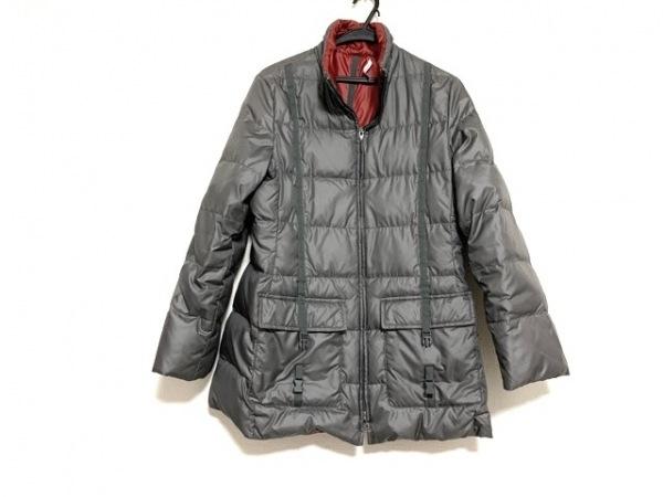 PENNYBLACK(ペニーブラック) ダウンコート サイズ40 M レディース美品  グレー 冬物
