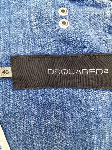 DSQUARED2(ディースクエアード) Gジャン サイズ40 M レディース ブルー 春・秋物