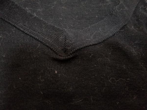 agnes b(アニエスベー) 半袖セーター レディース 黒