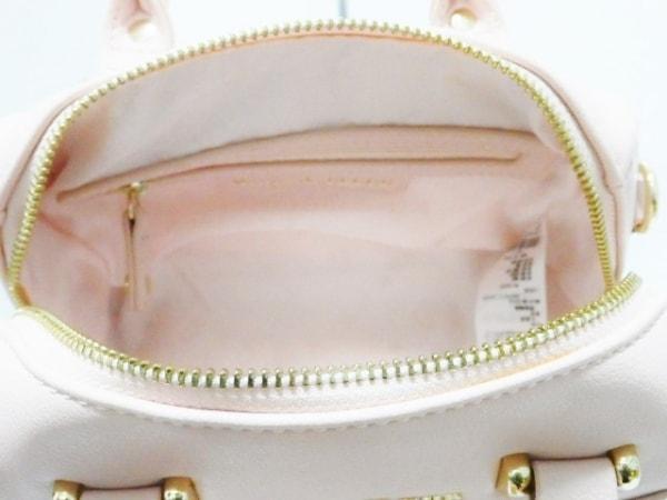Maison de FLEUR(メゾンドフルール) ハンドバッグ ピンク 合皮
