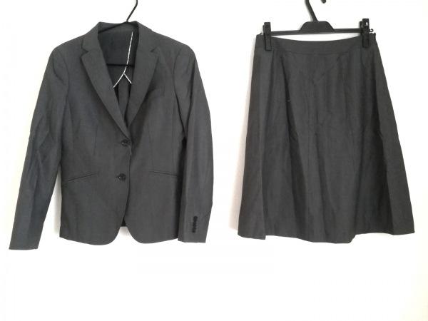 NEW YORKER(ニューヨーカー) スカートスーツ サイズ11AR M レディース グレー